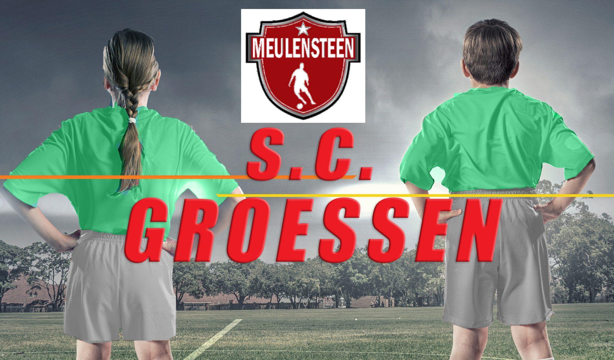 Introductie training van &quote;De Meulensteen Voetbal Academy&quote;