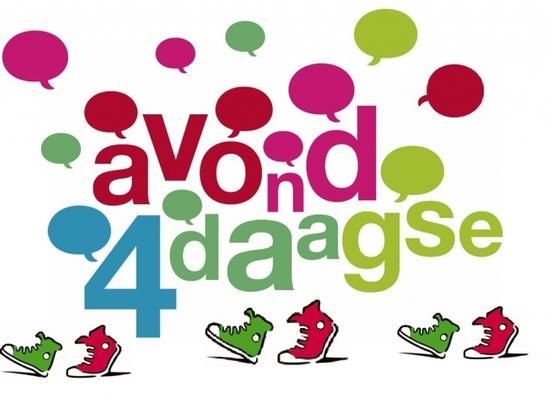 Naast trainen bij onze sportclub  kun je ook meedoen aan de Avond4Daagse!