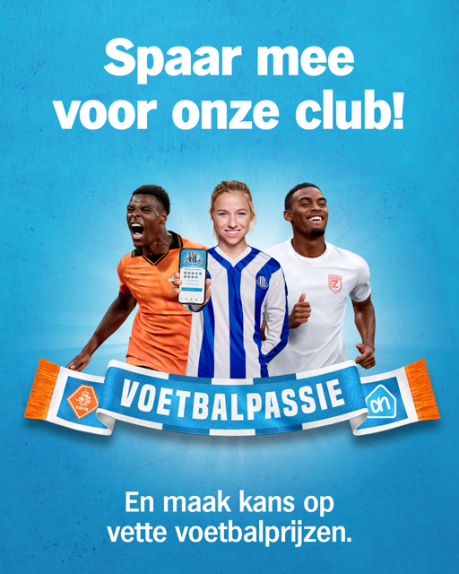 Sponsor Sportclub Groessen met Voetbalpassie