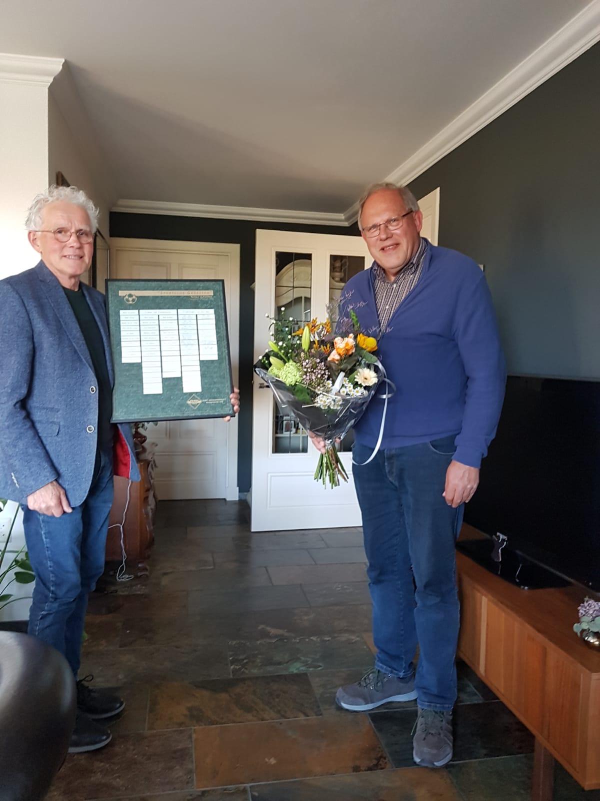 Fred Moorman benoemd tot lid van verdienste
