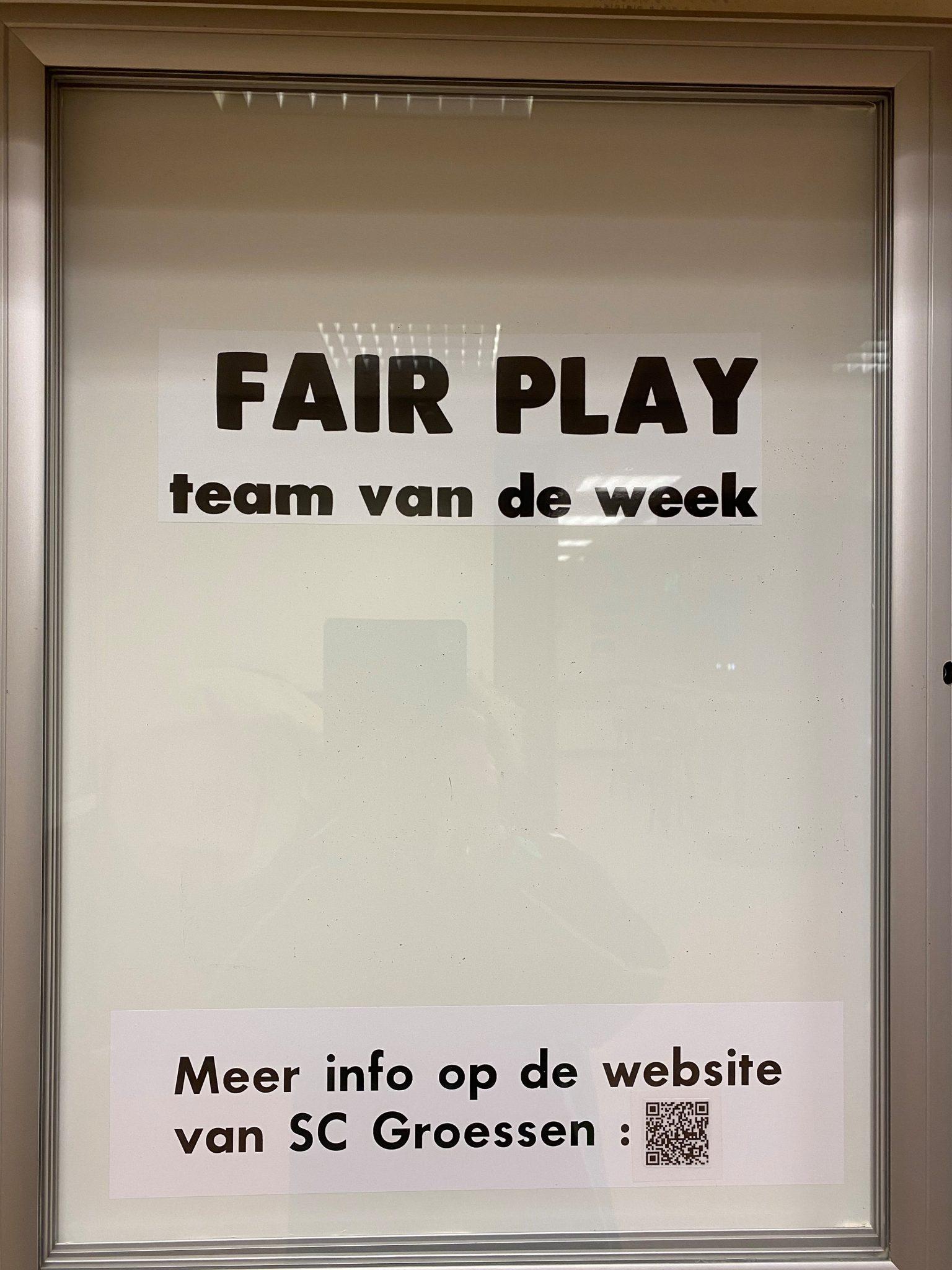 Fair Play Competitie